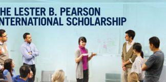Lester B. Pearson International Scholarship Program 2021/2022 for study at the University of Toronto, Canada
