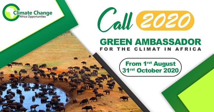 CCAO call for Green Ambassador for Climate in Africa 2020