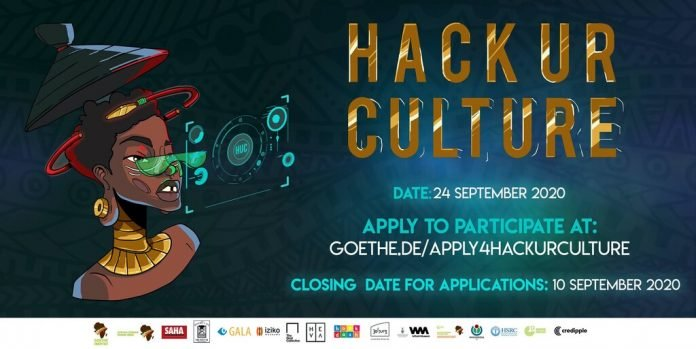 Goethe-Institut SA Hack Ur Culture Programme 2020 for creative Professionals across Africa