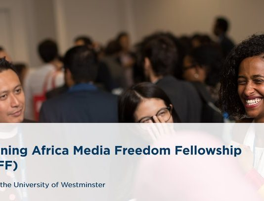 Chevening Africa Media Freedom Fellowship (CAMFF) 2021/2022 (Fully-funded to the UK)