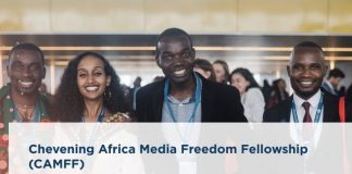 Chevening Africa Media Freedom Fellowship (CAMFF) 2021 for mid-senior level African Professionals (Fully Funded to the United Kingdom)