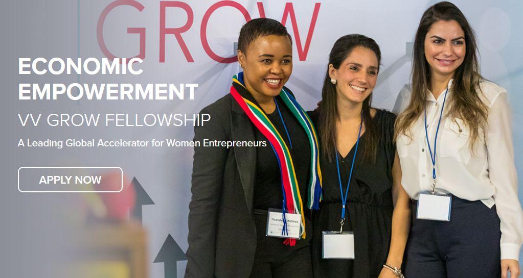 Vital Voices (VV) GROW Fellowship 2021 for Women Entrepreneurs (Scholarship available)