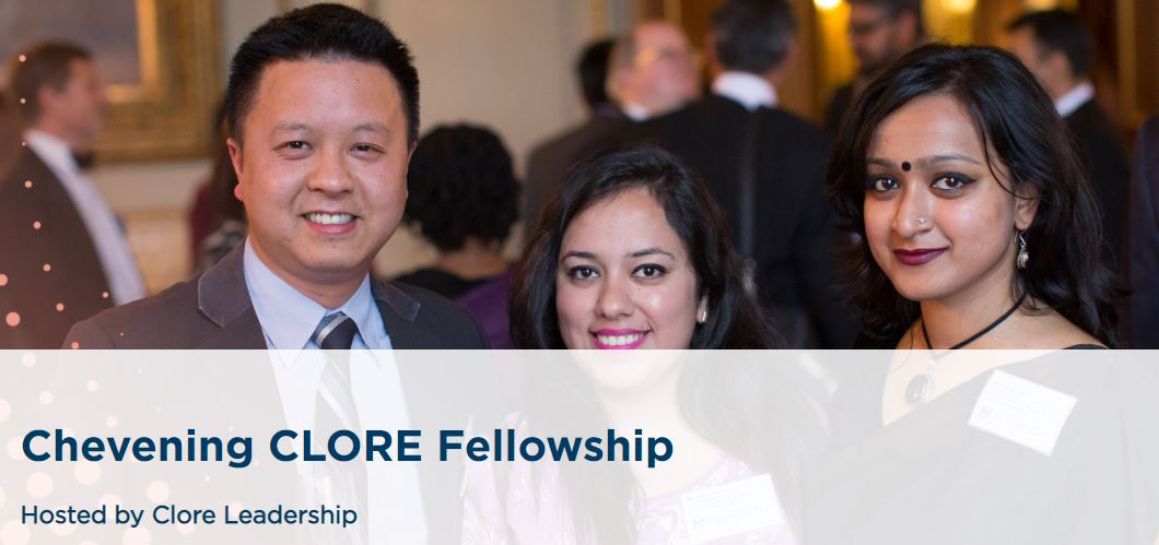 Chevening CLORE Fellowship 2021/2022 for Young Leaders (Fully-funded to the UK)