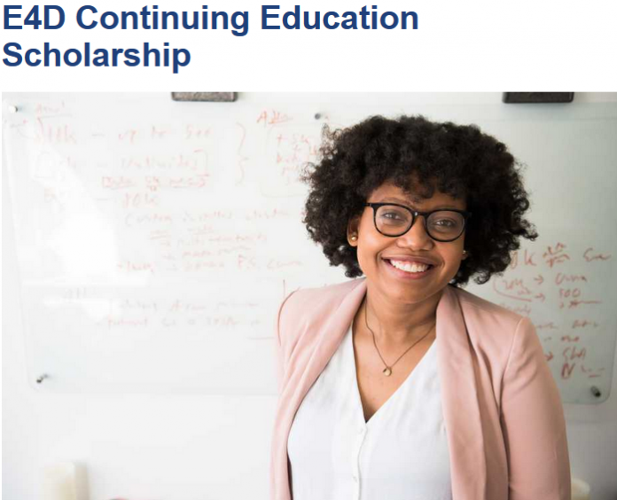 The Engineering for Development (E4D) Continuing Education Scholarship Programme 2021/2022 for study at ETH Zurich, Switzerland (Fully Funded)