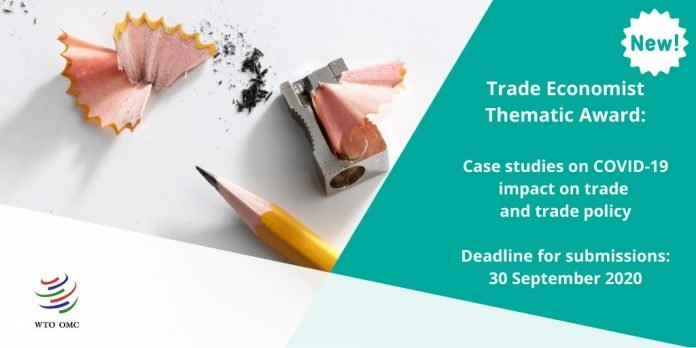 WTO 2020 call for papers for new Trade Economist Thematic Award (CHF 5,000 Prize)