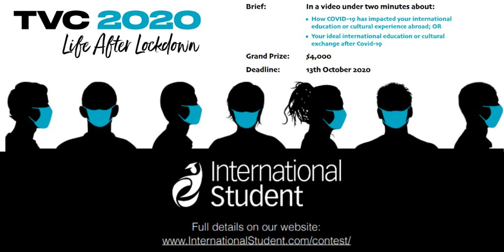 International Student Travel Video Contest 2020: Life After Lockdown ($4,000 prize)