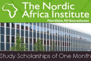 Nordic Africa Institute Scholarship Programme 2021 for Africa-oriented studies/research