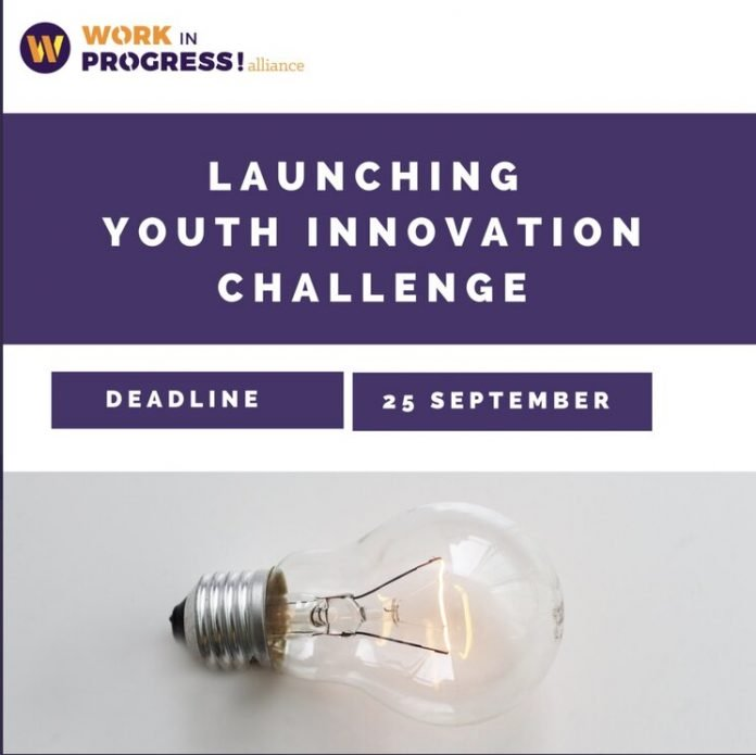 Oxfam Work in Progress! Alliance youth Innovation Challenge 2020 for young people (€10,000 awards)
