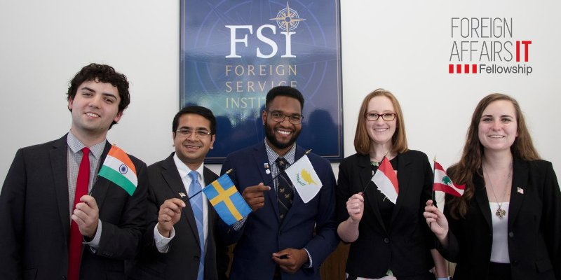 U.S. Foreign Affairs Information Technology (FAIT) Fellowship 2021 (Funded)