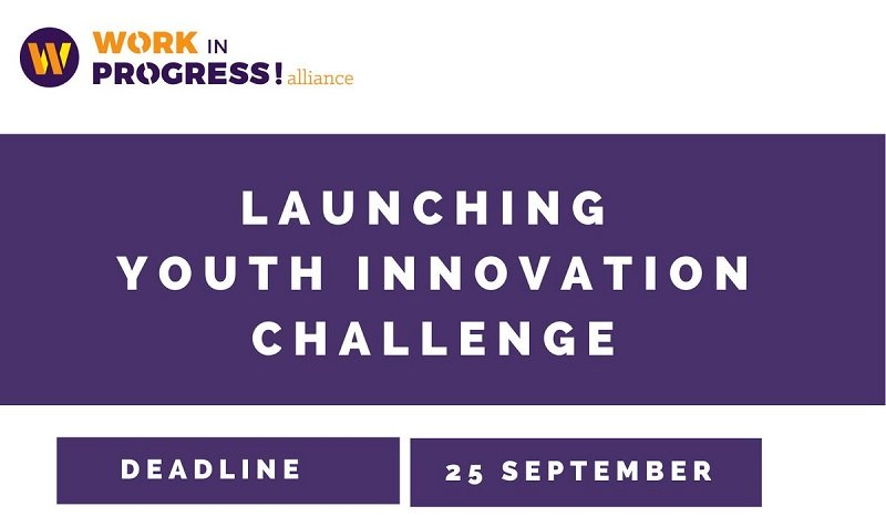 Work in Progress! Alliance Youth-led COVID-19 Innovation Challenge 2020 (€10,000 award)