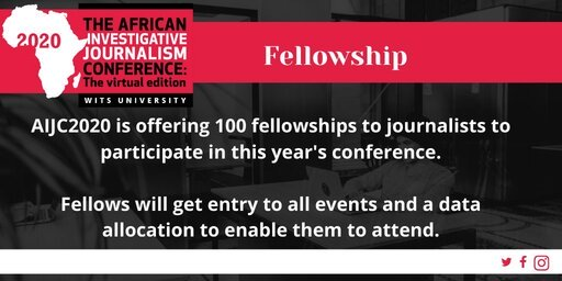 African Investigative Journalism Conference Fellowships 2020 for African Journalists