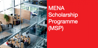 Nuffic MENA Scholarship Programme (MSP) 2020 to Study in the Netherlands – Round 2