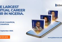 Jobberman Virtual Career Fair in Nigeria 2020 – Register for FREE Access