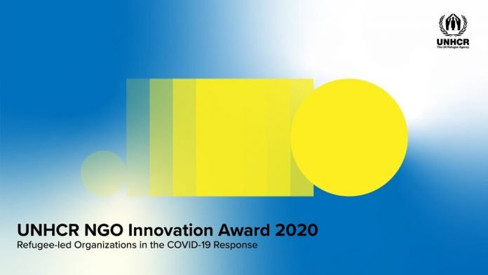 UNHCR NGO Innovation Award 2020 for Refugee-led Organizations.