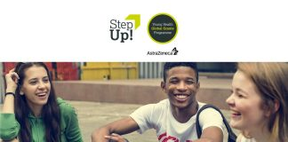 AstraZeneca Step Up! Young Health Global Grants Programme 2020 (Up to US$10,000)