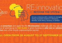Southern Africa Innovation Support Programme RE: innovation challenge 2020 for African startups ( EUR 50,000 per project)
