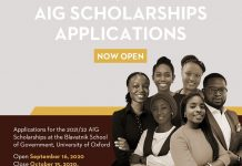 Africa Initiative for Governance (AIG) Scholarships 2021/2022 for Masters Study at the University of Oxford (Fully-funded)