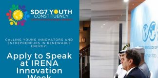 Apply to speak at IRENA Innovation Week 2020