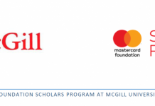 Mastercard Foundation Scholars Master's Program 2020/2021 at McGill University in Canada (Fully Funded)