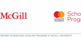 Mastercard Foundation Scholars Master's Program 2020/2021 at McGill University in Canada (Fully Funded)