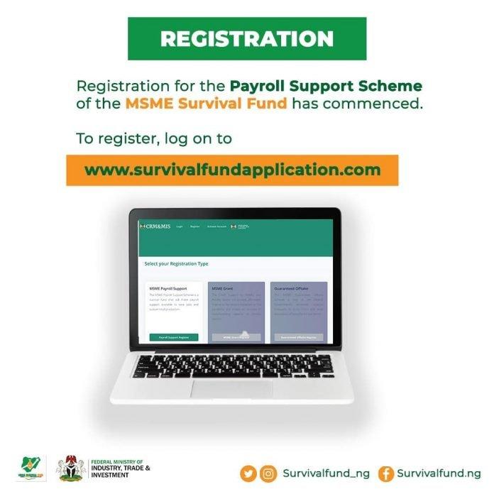 Federal Government of Nigeria Survival Fund Program for Nigerian Small and Medium Enterprises