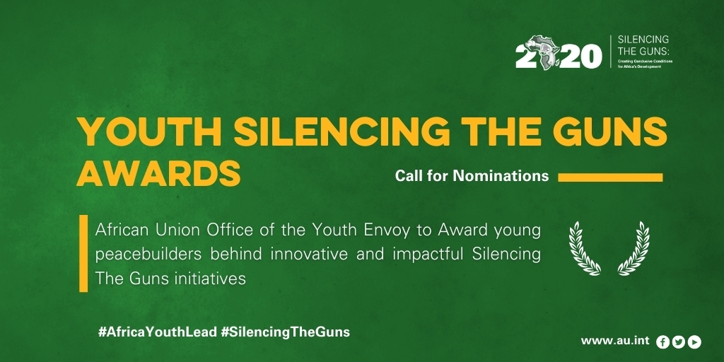 African Union Youth Silencing the Guns Award 2020 for Young Peacebuilders