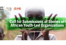 Call for Submission/Nomination of Stories of African Youth-Led Organizations 2020