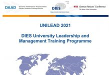 DAAD University Leadership and Management Training Programme (UNILEAD) 2021 for University Managers in Developing Countries (Fully Funded to Oldenburg, Germany)