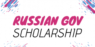 Open Doors Russian Government Scholarship 2020/2021 for International Students