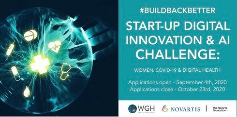 WGH/Novartis Foundation #BuildBackBetter Start-up Innovation Challenge 2020