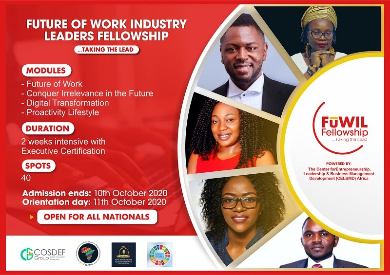 CELBMD Africa Future of Work Industry Leaders Fellowship 2020