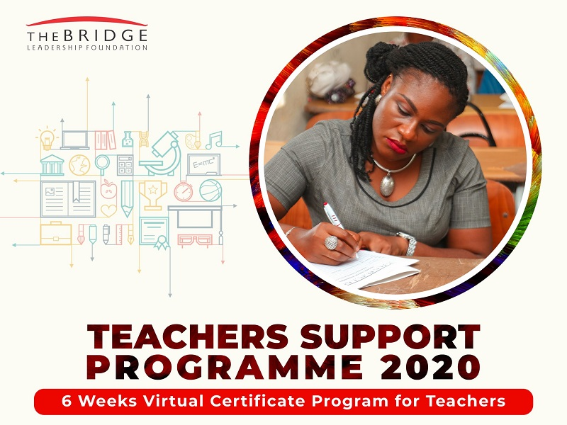 The Bridge Leadership Foundation (TBLF) Virtual Teachers Support Programme 2020 [Nigerians only]