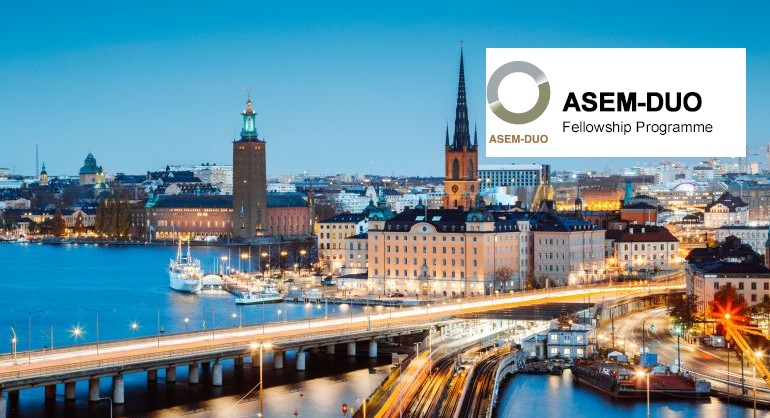 ASEM DUO-Sweden Fellowship Programme 2020/2021 (Round 2)