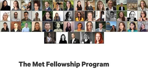 The Met Fellowship Program 2021/2022 for scholars & museum Professionals