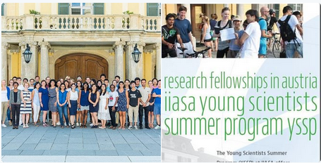 IIASA Young Scientists Summer Program (YSSP) 2021 for doctoral students worldwide (Funded)