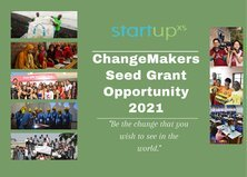 StartupX ChangeMakers Seed Grant Opportunity 2021 for startups & social enterprises (US $1000 grant)