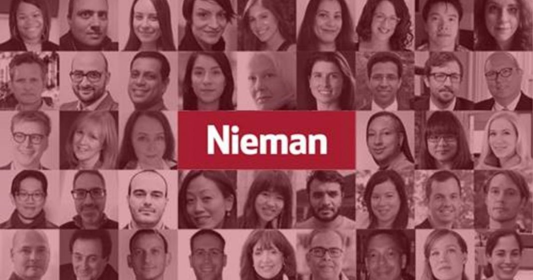 Nieman-Berkman Klein Fellowship in Journalism Innovation 2021/2022 at Harvard University