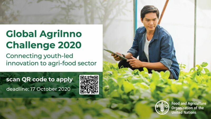 UN FAO/Zhejiang University Global AgriInno Challenge 2020 (Win trip to China and more)