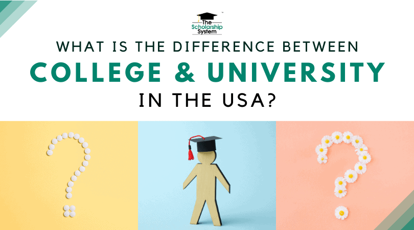 What's the Difference Between College and University in the USA?