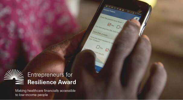 The Swiss Re Foundation Entrepreneurs for Resilience Award 2021 for entrepreneurial initiatives (USD 700 000 Prize)