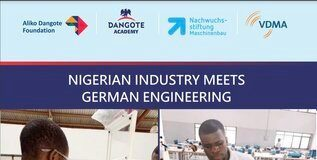 Dangote Foundation-VDMA Technical Training Programme 2020 for young Nigerians.
