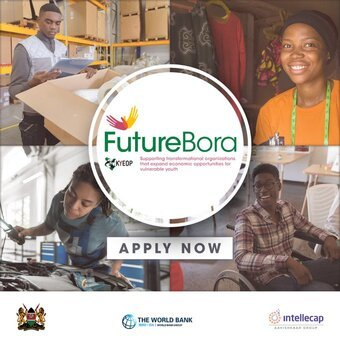 The Future Bora Initiative for Kenya Youth based Organizations (Grant funding of KSH 40 million )