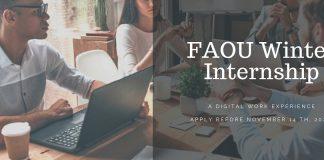 Fatima Al-Fihri Open University Winter Internship Program 2020
