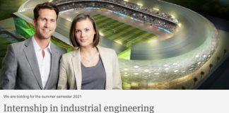 Julius Berger Nigeria Internship in Industrial Engineering