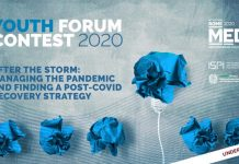 Mediterranean Dialogues (MED) Youth Forum Contest 2020 – Ideas and Projects at Work (€2,500 prize)