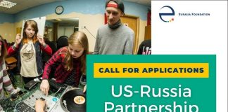 US-Russia Social Expertise Exchange (SEE) Partnership Projects Competition 2020-2021 (up to $43,000)