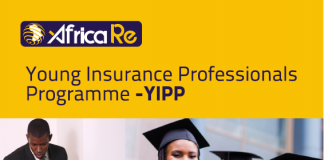 African Reinsurance Corporation (Africa Re) Young Insurance Professionals Programme (YIPP) 2020 for young Africans (Fully Funded)