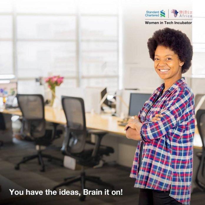 Standard Chartered Women in Technology Incubation Program 2020 for Kenyan Female Entrepreneurs.