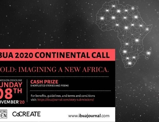 IBUA 2020 Continental Call for African Writers (Cash prizes available)