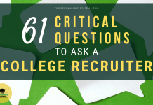 61 Critical Questions to Ask a College Recruiter